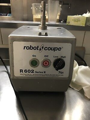 Robot Coupe R602 series E Food Processor Base only, New Motor Installed