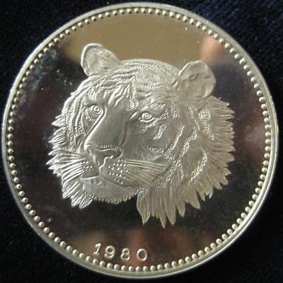 Equitorial Guinea 2000 Ekuele 1983 Proof tiger  #122