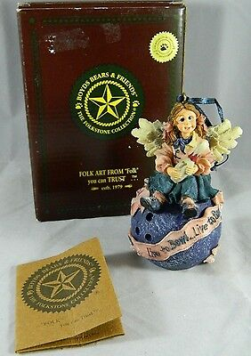 Boyds Ornament(s) #25659 LAVERNE...ON STRIKE, Guardian Angel of Bowlers Bowling