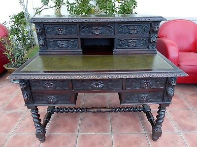 Country Oak Edwards And Robert Ladies Desk Free Shipping Mainland England
