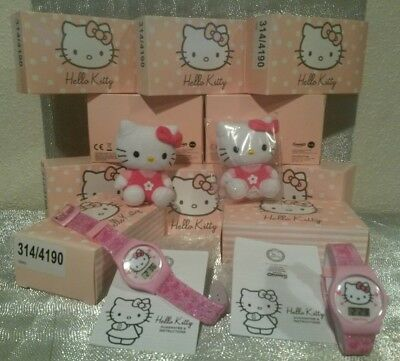 Job Lot Wholesale Girls Hello Kitty Watches &plush Toys Party Gift Sets Rrp £250