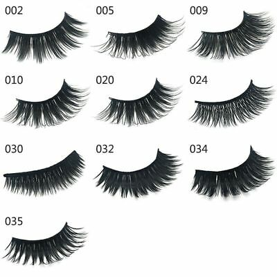 5 Pairs False Eyelashes Set Long Natural Thick Fake Eye Lashes Extensions UK
