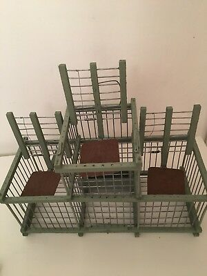Wooden Bird Cage And Bird Trap For The Aviary
