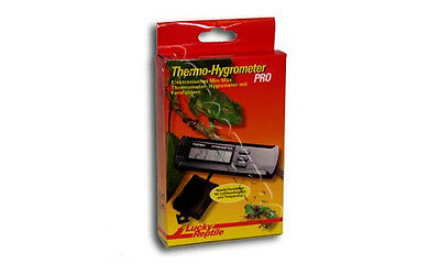 Lucky Reptile Thermo-Hygrometer PRO m. Fernfühler Thermometer Hygro NEU+OVP