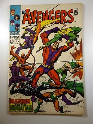 The Mighty Avengers #55 1st Appearance of Ultron!! Sharp VG/Fine!! Sharp Book!!