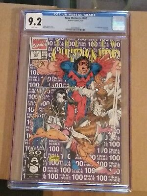 New Mutants 100 CGC 9.2 1st APPEARANCE OF X Force MOVIE COMING!! DEADPOOL 2
