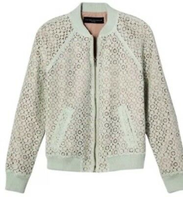 043bb1edd38 NWT Victoria Beckham for Target Women's Mint Green Lace Bomber Jacket Size  XS