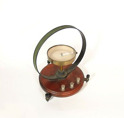 """1910 Central Scientific Tangent Galvanometer * 11"""" High * 9"""" Wide * Very Nice"""