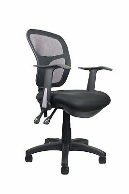 Ready 2 Go BSC Typist Chair with Arms - Black **FREE SHIPPING**