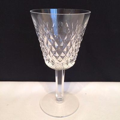 Set Of 6 Waterford Alana Crystal Claret Wine Glasses In Mint Condition Cr1256