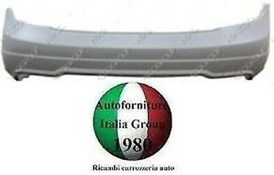Rear Bumper Rear Paintable S/without Mercedes C Class W204 11>13 Br Model Amg