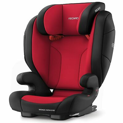 Recaro Monza Nova EVO Seatfix Group 2/3 Child / Kids Car Seat - Racing Red