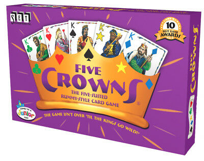 Five Crowns Card Game 5 Suites Classic Original Family (4001) Rummy Style Play