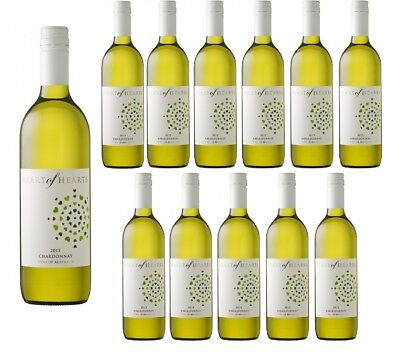 Heart of Hearts Chardonnay White Wine 2016 (12x750ml) RRP$199