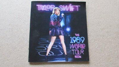 Taylor Swift : The 1989 World Tour Book Holographic 3D Covers / Programme