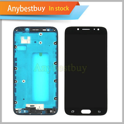 For Samsung Galaxy J7 Pro 2017 J730G J730GM LCD Display Touch Digitizer +Frame