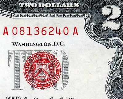 HGR FRIDAY 1963 $2 U.S.Note ((FLAWLESS)) Appears SUPERB GEM UNCIRCULATED