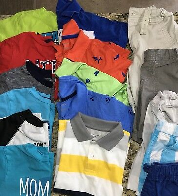 EUC Boys Summer Clothing LOT 4T Size 4