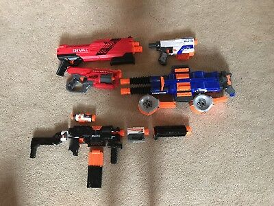 (Used) Nerf Gun Lot
