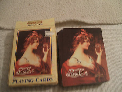 Playing Cards Pepsi Cola 1997 Nostalgic Early 1900's Picture of Lady by Hoyle