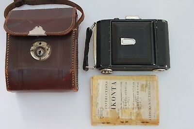 Zeiss Ikonta Telma Medium Format 6X4.5 Cm Folding Viewfinder Camera