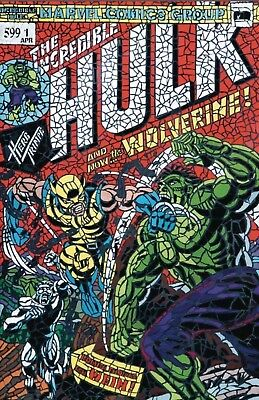 HULK #181 SHATTERED VARIANT The Hunt for Wolverine #1 NM sold out & HOT