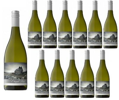 NZ Chapel Point Marlborough Chardonnay White Wine 2015 (12x750ml) RRP$320