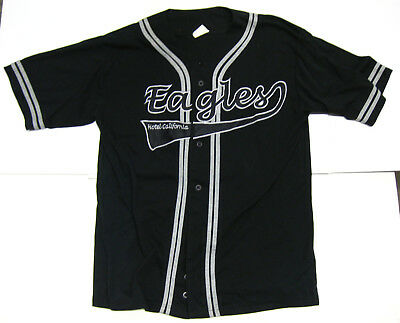 THE EAGLES Hotel California 2000 US CONCERT TOUR Baseball Jersey SHIRT Large