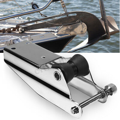 316 Stainless Steel Heavy Duty Bow Anchor Roller For Fixed Marine Boat Docking