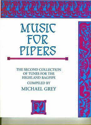 P/M MICHAEL GREY MUSIC BOOKS FOR BAGPIPES COLLECTION Choice of volumes 1 to 4