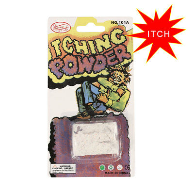 10PCS Itch Itching Powder Packages Prank Joke Trick Gag Funny Joke Trick Magic