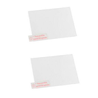 2 Pieces 0.33mm Self-Adhesive Optical Glass Screen Protector for Sony A7 III