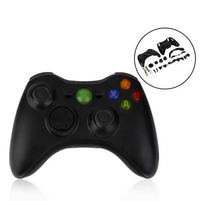 New Black Wireless Handle Gamepad Controller Shell For Microsoft Xbox 360  Mt