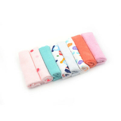 8pcs Small Square Baby Towel Handkerchief for Infant Kid Children Bathing UX