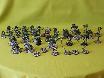 Warhammer 40K Painted Necron Army - Many Units To Choose From