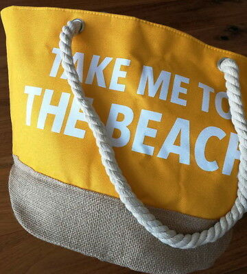 "Douglas SUN Sommertasche ""TAKE ME TO THE BEACH"" NEU"