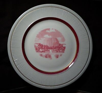 FORD ROTUNDA  EXECUTIVE STAFFORDSHIRE >> monster << 10.5 inch dinner plate