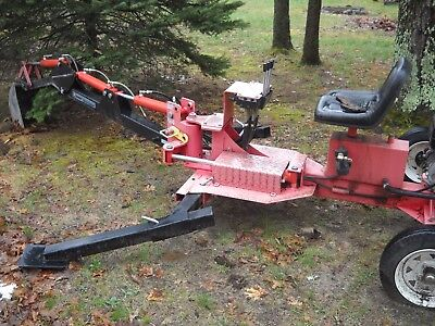 Harbor Freight Tow Behind Back Hoe Trencher