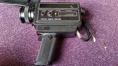 Vintage Super 8 Movie Camera Chinon 606 Direct Sound