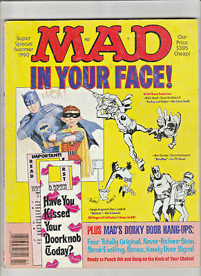 MAD Super Special #71 Summer 1990 The Right Stuff BATMAN Newhart IN YOUR FACE!