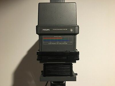 Ingranditore Philips enlarger PCS 130 per B/N - B/W only - 35mm only