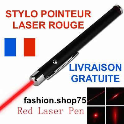Pointeur Laser Rouge Red Puissant 10Km Lazer Pointer 1Mw Stylo Rouge