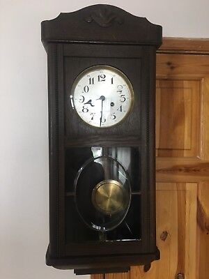 Antique  Pendulum Regulator Clock