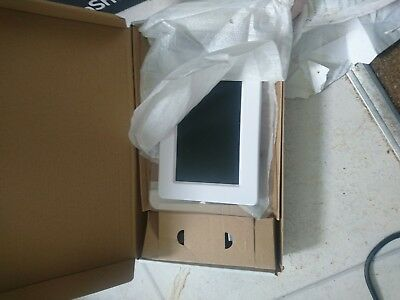 """New Kitvision 7"""" Digital Photo Frame Built In Stand Sd Mmc Ms Memory Cards Black"""