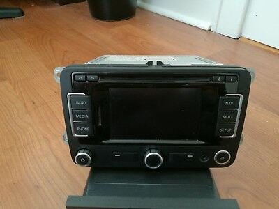 RNS315 OEM VW Stereo GPS with Backup Camera Adapter - Jetta/Golf/Beetle/Tiguan