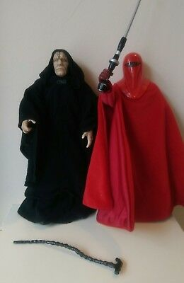 Star Wars Collector Series 12 Inch Emperor Palpatine & Royal Guard