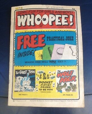 Whoopee Comic No2 March 1974 No free gift Good Condition