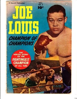 Joe Louis 2 (1950): FREE to combine- in Good/Very Good condition