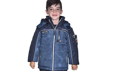 NWOT Weatherproof Boys Snow Jacket (Blue, 6)