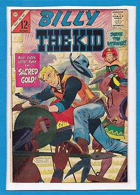 Billy The Kid #52_October 1965_Fine+_Silver Age Western_Charlton Comics!